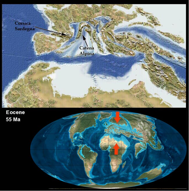 Cartina Italia 20000 Anni Fa.La Storia Geologica D Italia E Dei Suoi Oceani